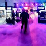 Ciężki dym na pierwszy taniec. Wesele Toruń Hotel Copernicus