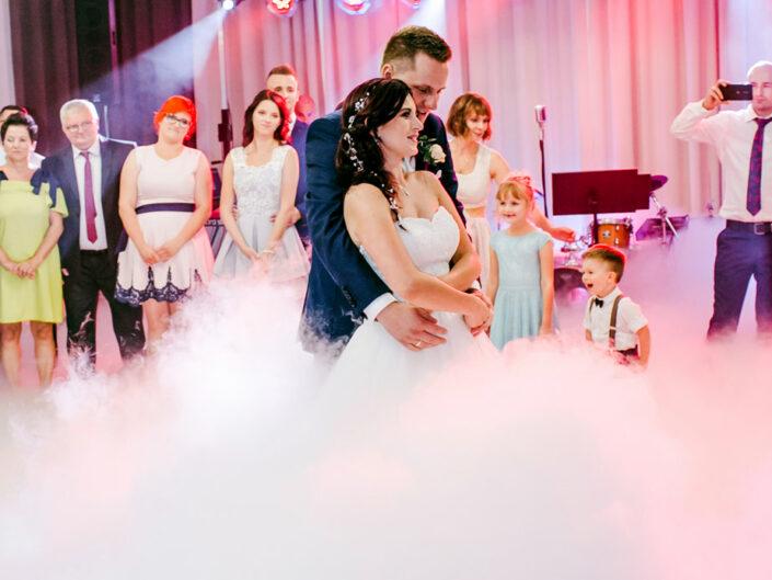 Ciężki dym wesele Panorama Tucholi