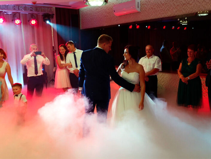 Taniec w chmurach wesele Panorama Tucholi