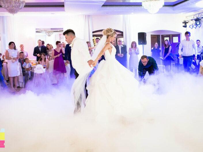 Ciężki dym pierwszy taniec wesele Brodnica