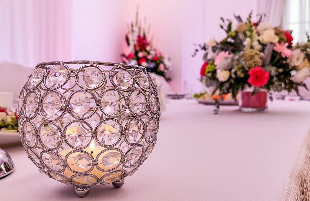 Dwór Biesiadny Rojewo dekoracja światłem wesele